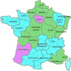 Carte de France: Carte de france lille