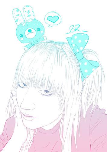 Illustracion Pati KawaiiCloud!