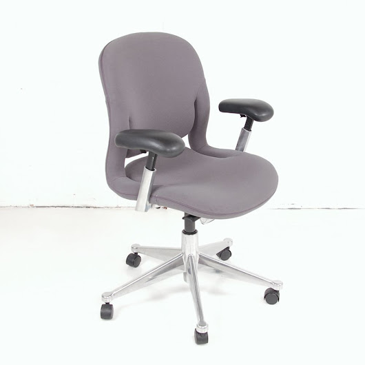 Herman Miller Equa 2 | Grey Computer Chair | Herman Miller Task Chair
