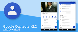 Google Contacts v2.2 updates the contact pages with quick access bar, full-width photos, and other UI improvements [APK Download]
