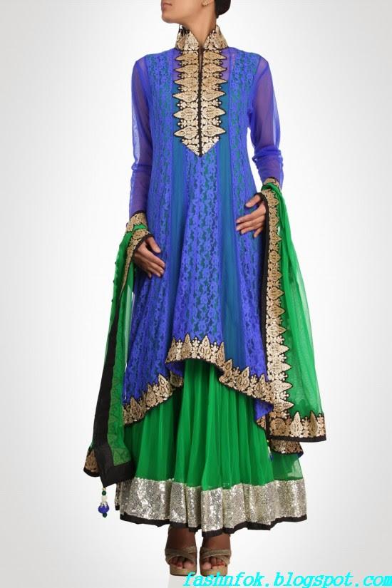 Anarkali-Gorgeous-Bridal- Wedding-Ankle-Length-Dress-by-Designer-Kiran-&-Shruti-Aksh-10