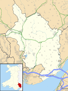 Magor is located in Monmouthshire