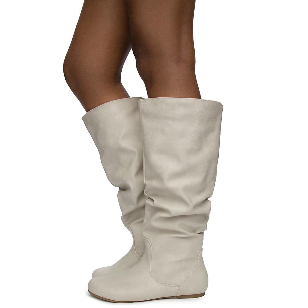 ShiekhShoes White Boot