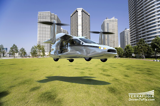 Flying Car Moves from Science Fiction Toward Reality