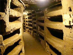 Catacombs of Rome: Priscilla's catacomb