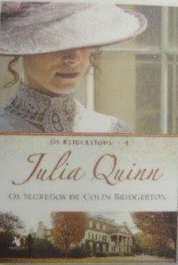 Os Segredos de Colin Bridgerton, Julia Quinn, capa, livro