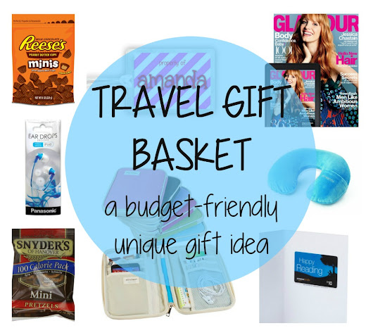 Travel Gift Basket - budget-friendly gift ideas for the traveler