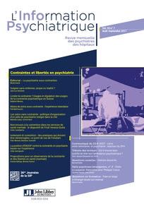L'information psychiatrique 2017/7