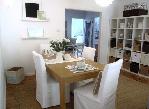 A Beach Cottage Dining Room Makeover