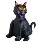 "Citi-talent 90-224-087 Halloween Inflatable Lighted Black Cat, 48"""