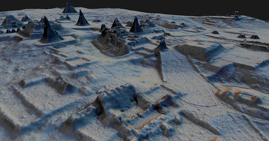 Hidden Kingdoms of the Ancient Maya Revealed in a 3-D Laser Map