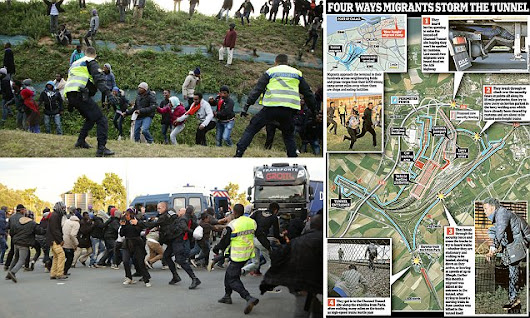 Now it's batons and teargas in battle of Calais