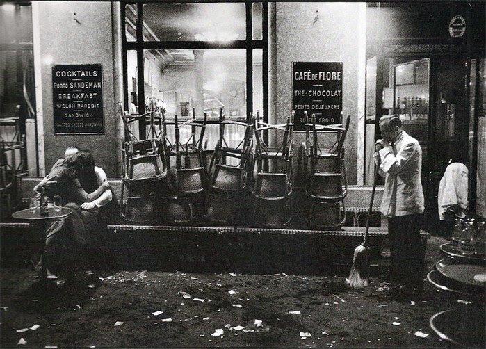Cafe de Flore © Dennis Stock