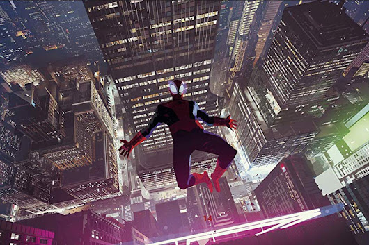 Spiderman - Into The Spiderverse Concept Art - Halcyon Realms - Art Book Reviews - Anime, Manga, Film, Photography