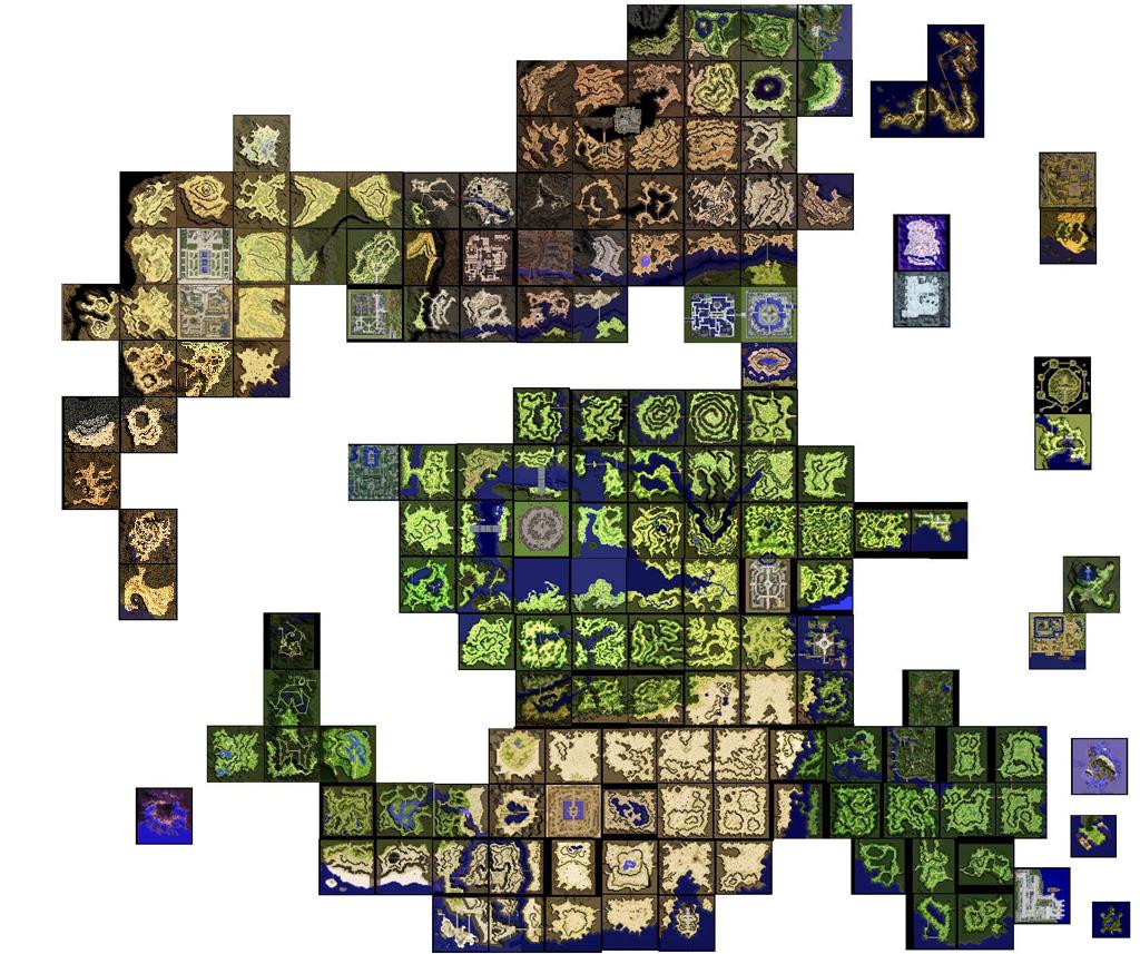 Map Du monde Ragnarock