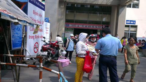 bắt cóc, trẻ sơ sinh, Bệnh viện Hùng Vương, TP.HCM, an ninh, nghiêm ngặt