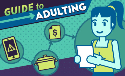 #Adulting: Using your kitchen for more than a bowl of cereal
