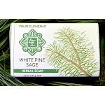 Four Elements Organic Herbals White Pine Sage Soap - 3.8 oz Bar Soap