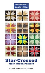 Star-Crossed Block Pattern Cover