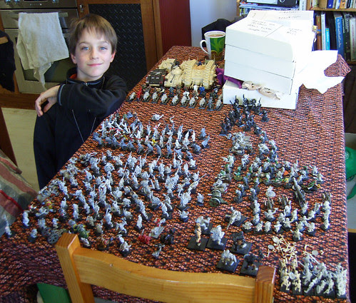 amassing the armies
