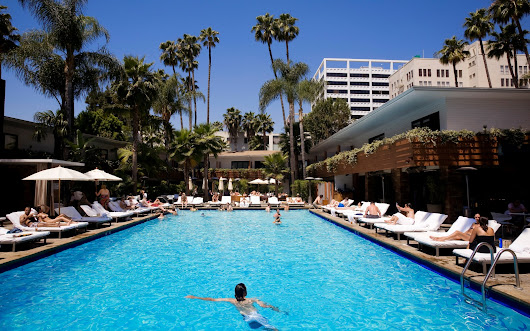 Beat the Heat at L.A.'s Hottest Hotel Pools