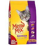Meow Mix Chicken Flavor - Dry Cat Food - 22lbs