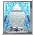 Carnation Home Oceanic Fabric Window Curtain