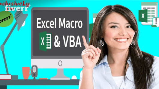 creative_imam : I will provide excel macro excel vba to automate your excel task for $15 on www.fiverr.com