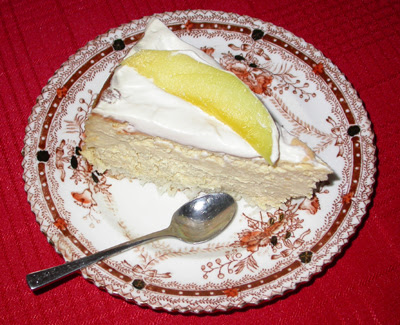 Orange Coconut Mango Cheesecake