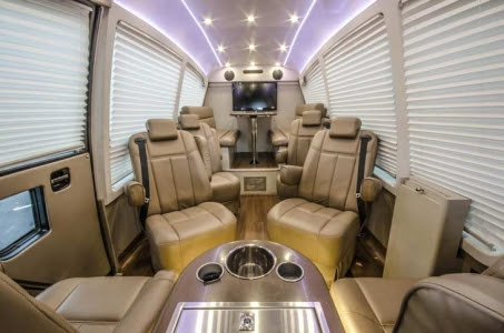 Luxury Sprinter Charters - His Majesty Coach