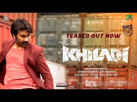 Khiladi​​ Telugu Movie Teaser