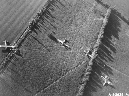 Normandy fields.