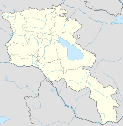 Teghut is located in Armenia