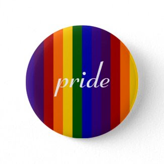 Rainbow Stripes Pins