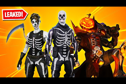 Fortnite Halloween Skins Wallpaper