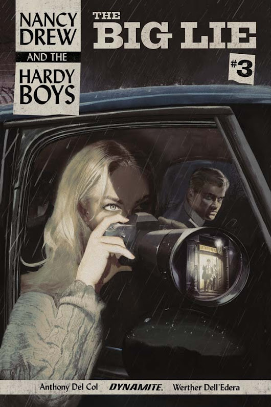 Nancy Drew and Hardy Boys comic leads to fisticuffs