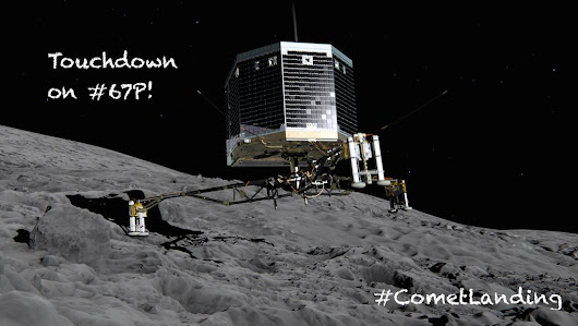 "ESA Rosetta Mission on Twitter: ""TOUCHDOWN for @Philae2014! #CometLanding """