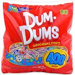 Dum Dums 400 ct gusset bag