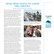 Using citizen science for coastal data collection.