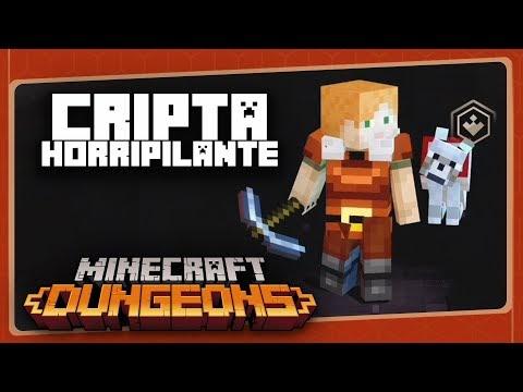 MINECRAFT DUNGEONS #2 - A Cripta Horripilante | Gameplay em Português PT-BR com BRKsEDU