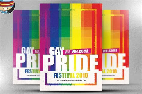 Gay Pride Festival Flyer Template ~ Flyer Templates