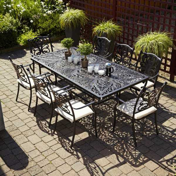 Devon 8 Garden Furniture Set by Leisuregrow