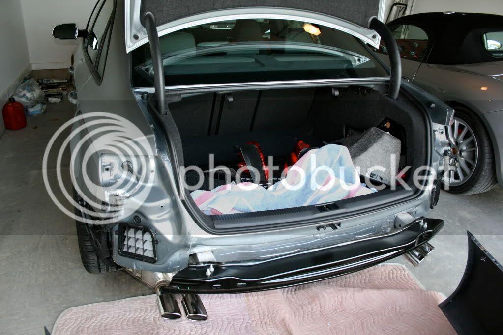 Audi A5 Rear Bumper Removal | Audi
