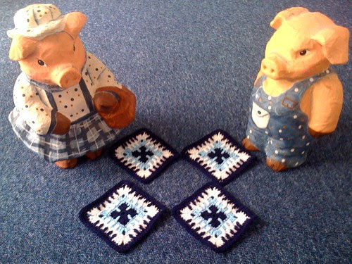 Hello 'Blue and White' Squares!