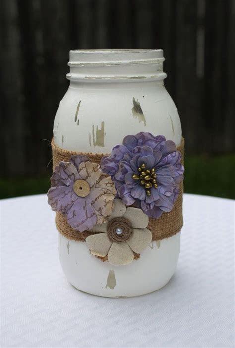 25  best ideas about Mason jar burlap on Pinterest   Babys