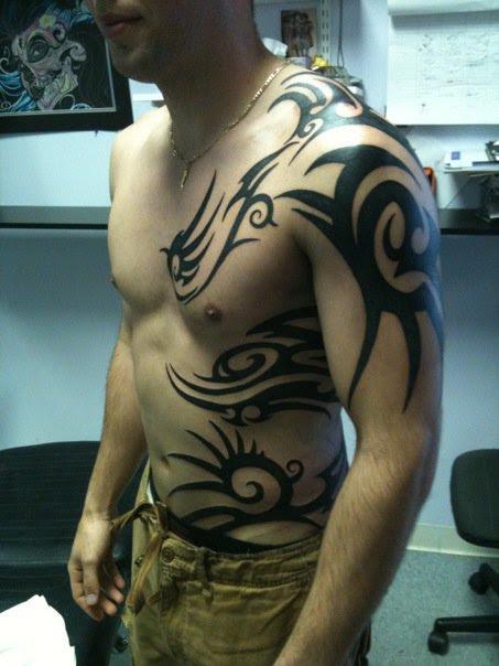 Tumblr Tribal Body Tattoo 2015