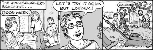 Home Spun comic strip #240