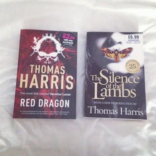 Boxing Day Purchases: Red Dragon and The Silence of the Lambs by Thomas Harris from HMV for £9.98