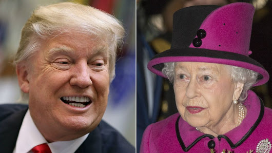 Trump state visit plan 'very difficult' for Queen - BBC News