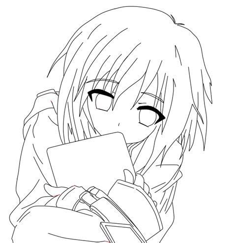 cute anime girl  art  britt art dcj